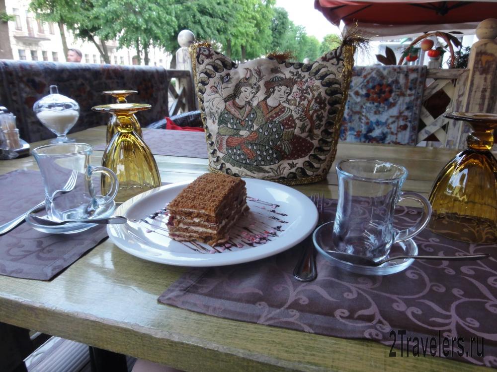 Кафе на проспекте Мира во Владикавказе